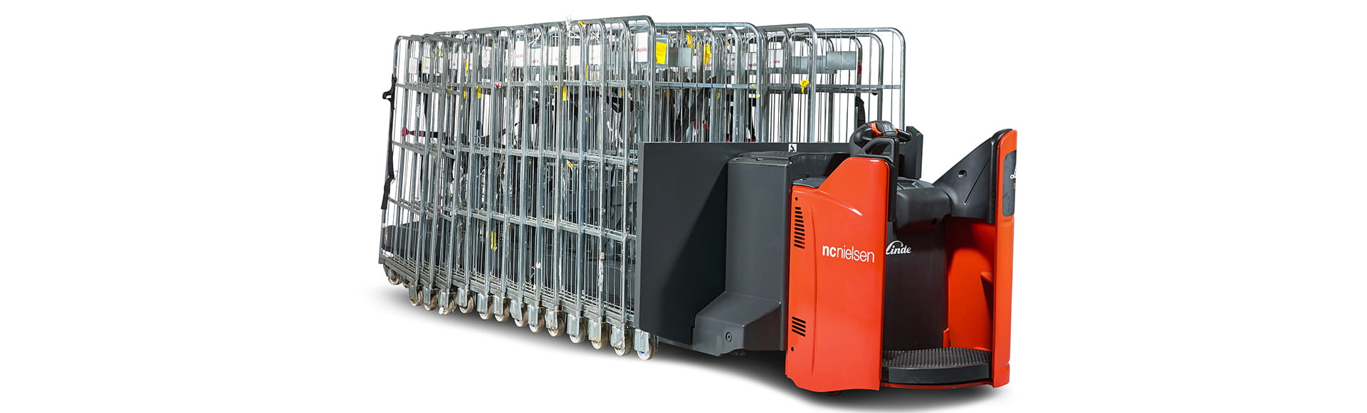 N.C. NIELSEN'S SPECIALISED MACHINE MOVES Trolly Carts IN BUNDLES