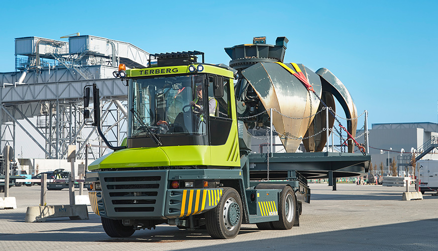 Heavy-handling solution to transport grabs at HOFOR