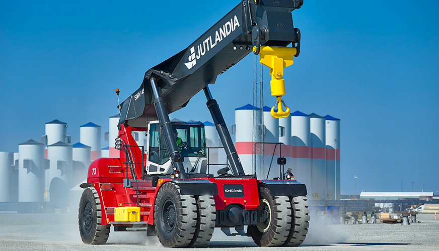 New reach stackers will form the backbone of Jutlandia's operations