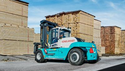 Konecranes forklifts go electric
