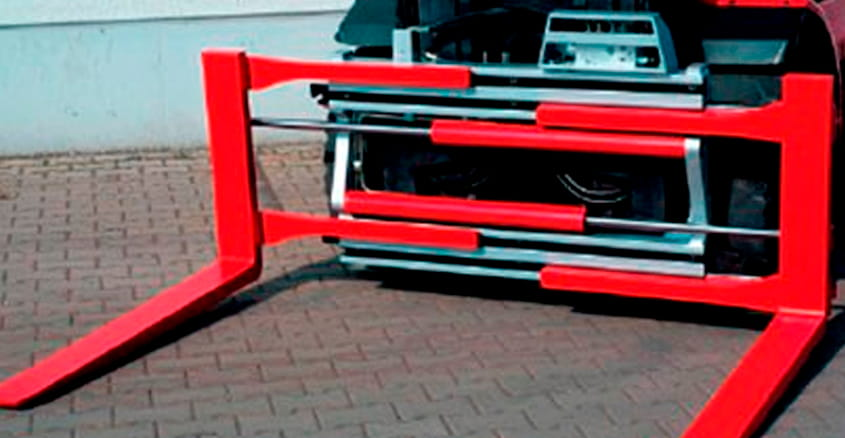 Forklift clamps