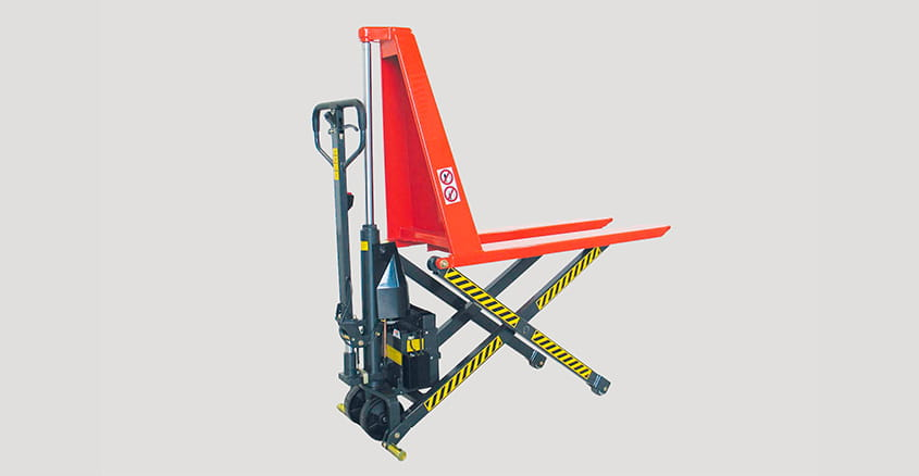 Manual pallet truck with scissor lift HLCE