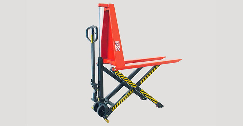 Manual pallet truck with scissor lift HLCM